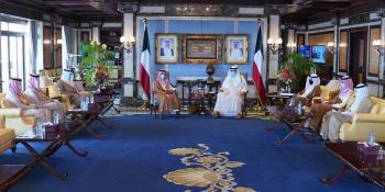 خادم الحرمين الشريفين يبعث رسالة خطية لنائب أمير دولة الكويت