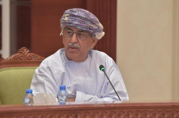 Oman's Minister of Health, Dr. Ahmed bin Muhammad Al-Saidi