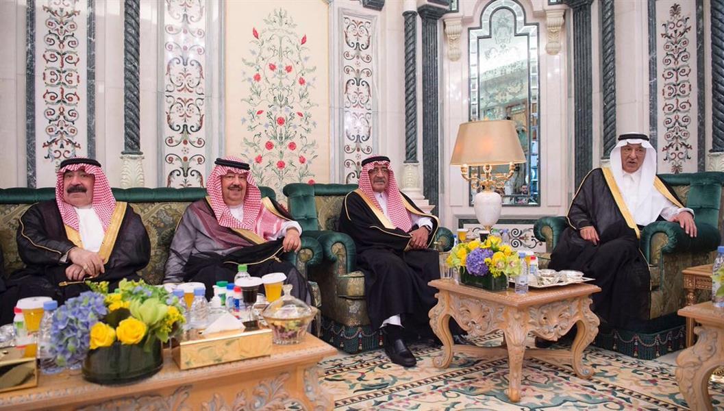 خادم الحرمين يستقبل رئيس المجلس الرئاسي لحكومة الوفاق الوطنية الليبية