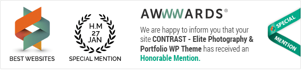 CONTRAST - Elite Photography & Portfolio WP Theme - 1