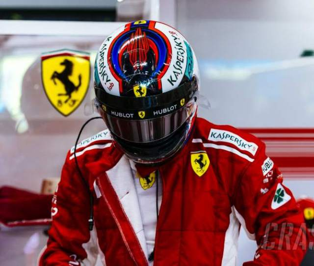 F1 Raikkonen Fastest In Singapore Fp2 As Vettel Hits Wall