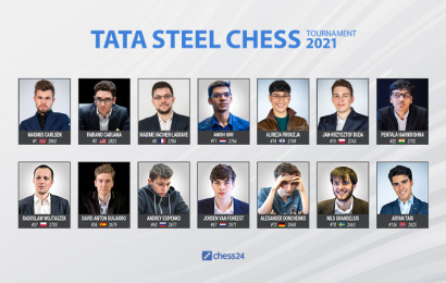 tata steel chess masters lineup