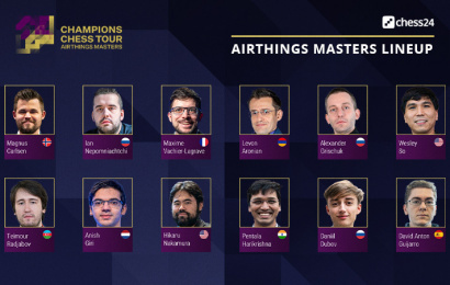 airthings masters line up