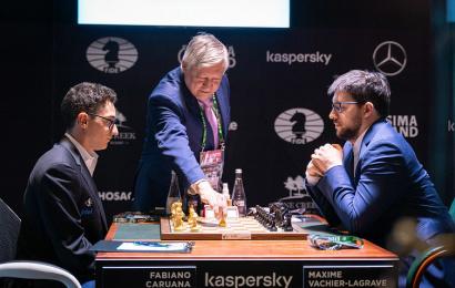 karpov makes first move caruana mvl