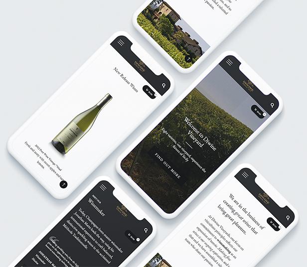 Diwine - Winery & Wine Shop, Vineyard WordPress Theme - 10