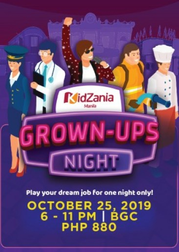 Grown Ups Night Tickets