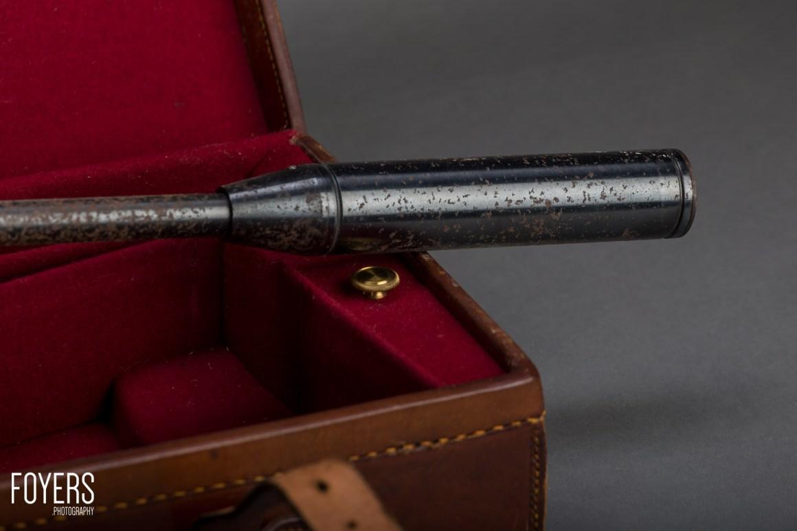 air rifle on gun case-4 - copyright Robert Foyers