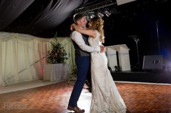 Ally and Alex dancing gracefully to their chosen song, Only Love by Ben Howard on there own