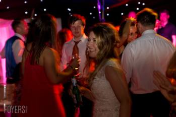 Bride dancing to the brilliant Lee Vasey Band played throughout the night