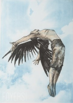 ICARUS LITHOGRAPHS