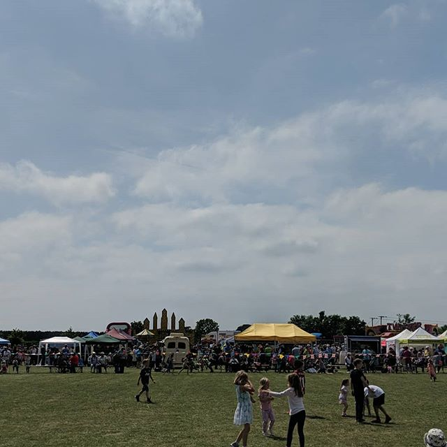 Hot busy day but great fun at the Rendlesham show