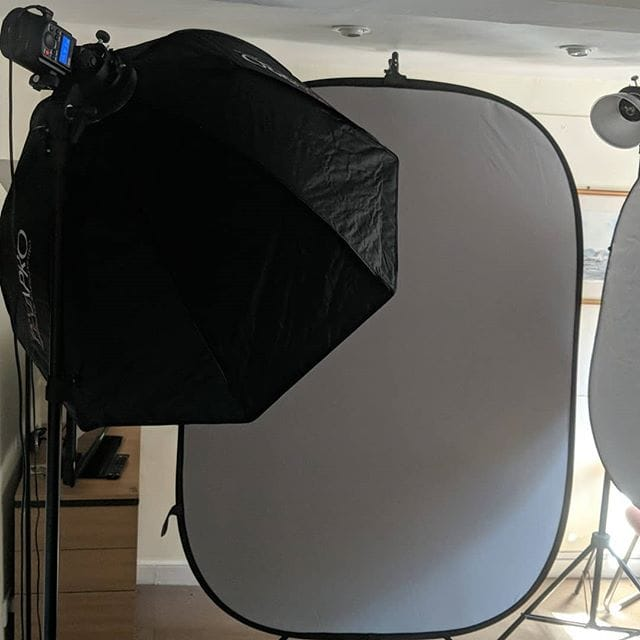 Busy morning, headshots for a local solicitors.