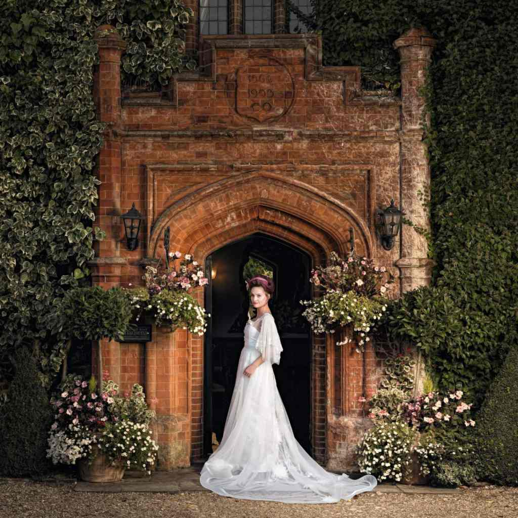Wedding dress Photoshoot for Martin Dobson Couture at Woodhall Manor