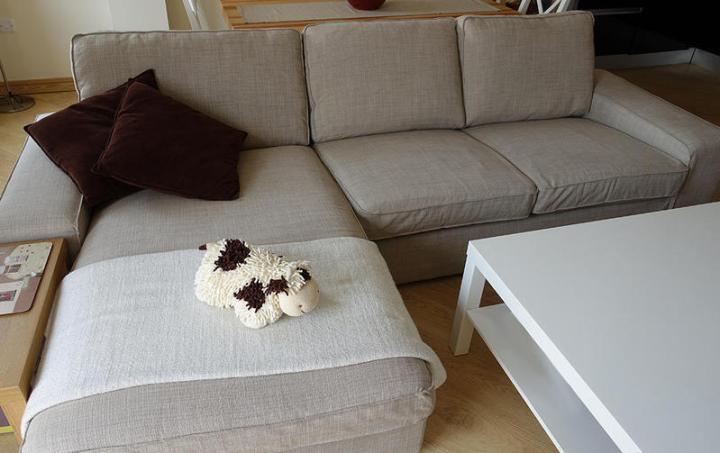 Kivik three seat sofa and chaise longue for Kivik 3 plazas chaise longue