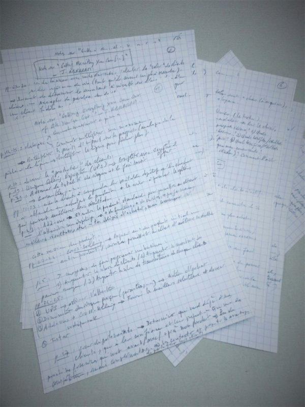 Notes de lecture