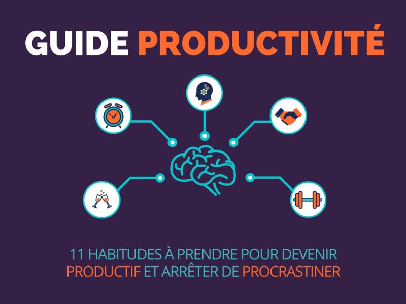Couverture guide productivité