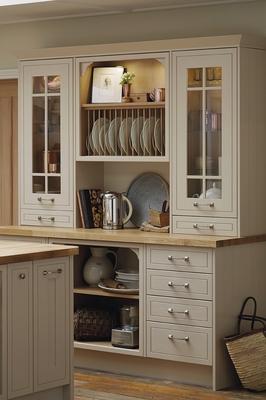 Tewkesbury Framed Cashmere Kitchen Shaker Kitchens