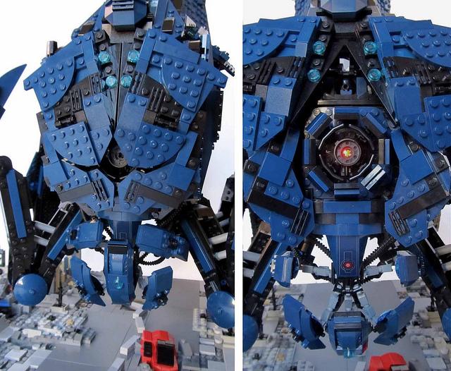 Mass Effect Reaper Reborn In LEGO