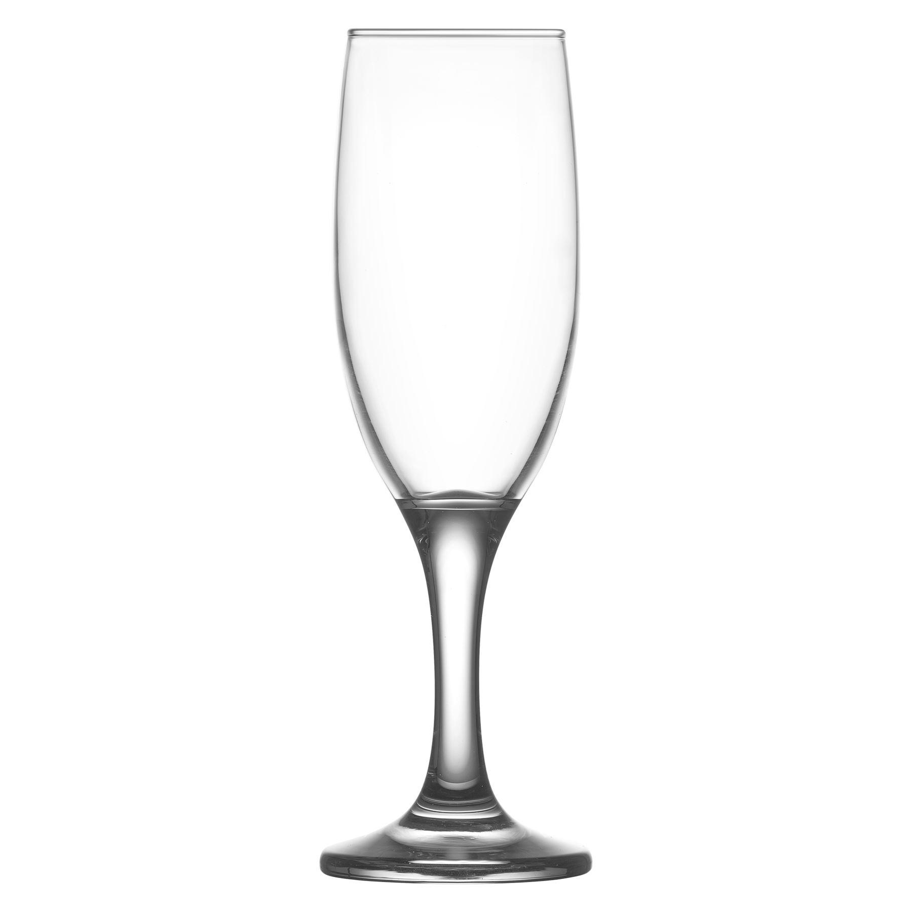 Misket Glass Champagne Flutes
