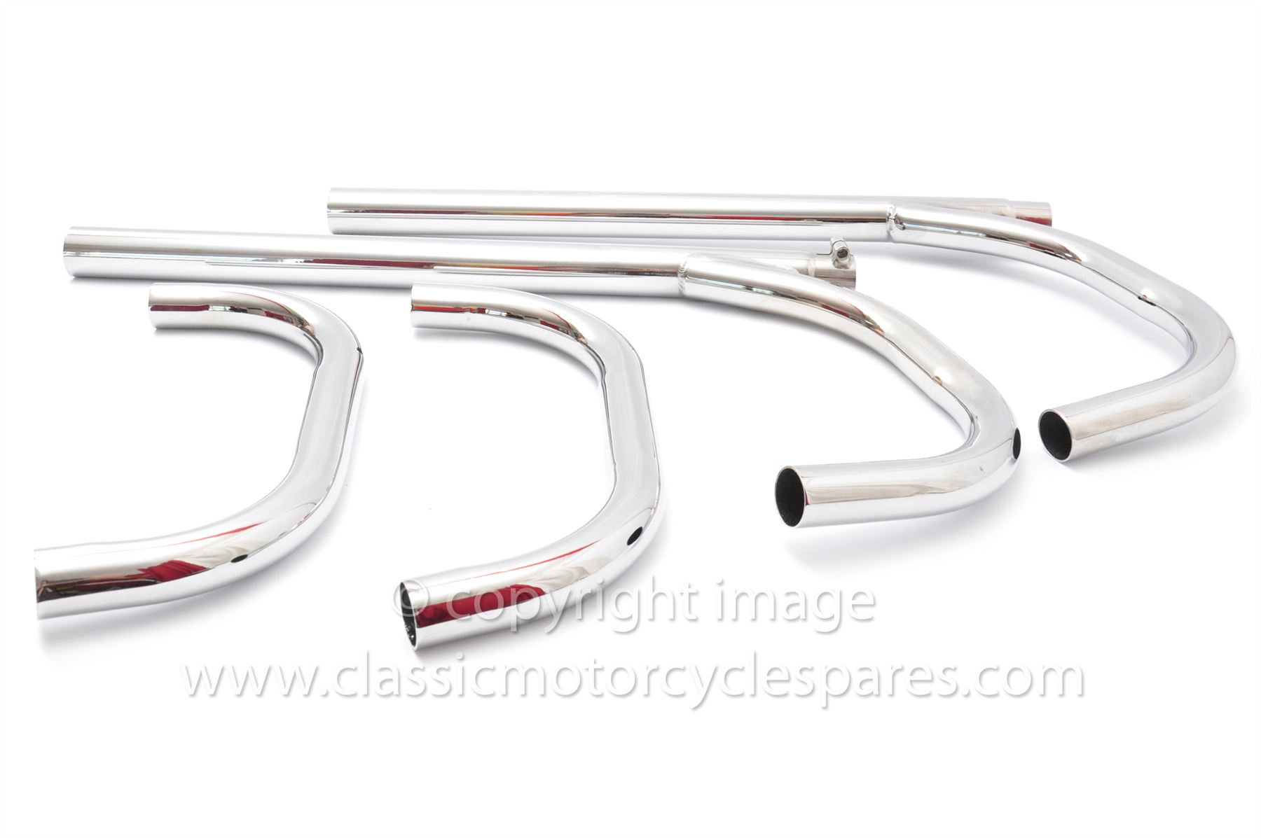 Exhaust Pipes Ariel Square 4 Mk 2 59 Uk Made