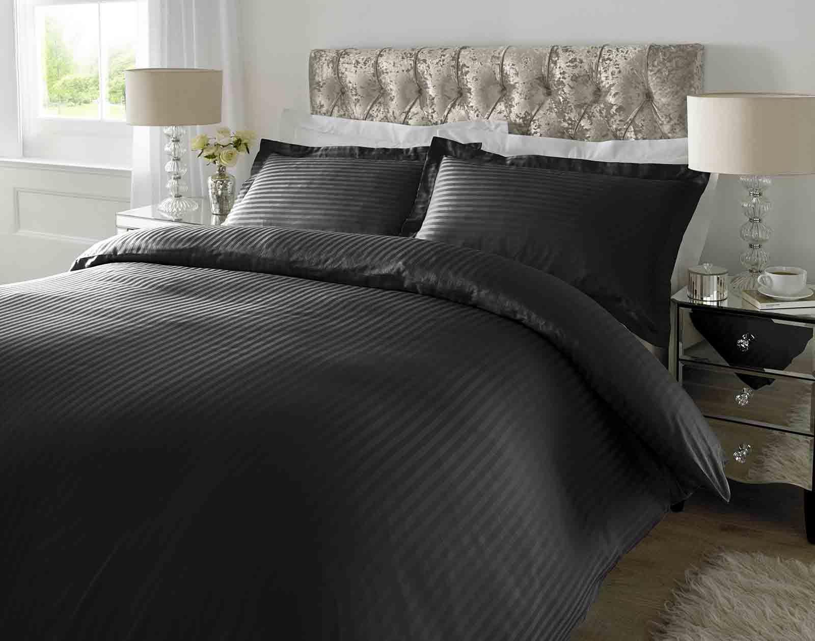 100 Cotton Luxury Duvet Cover Set Pillow Case Bedding