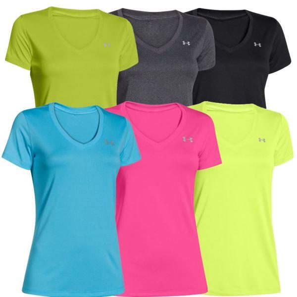 Under Armour Women's UA Tech V-Neck T-Shirt | eBay
