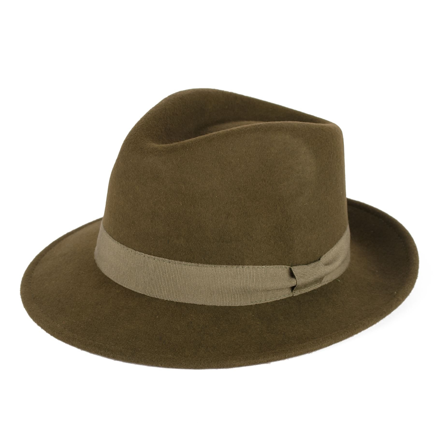 Mens Ladies Fedora Hat 100 Wool Felt Made In Italy