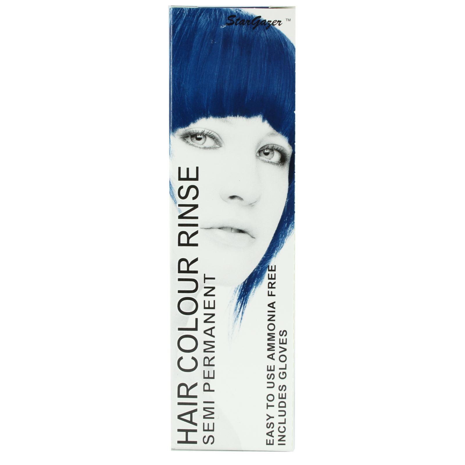 Stargazer Semi Permanent Hair Dye Cream Colour Rinse Tint Toner 1 2 Or 4 Pack