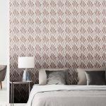 Rose Gold Pink Wallpaper Geometric Metallic Marble Trellis Stripe More Ebay