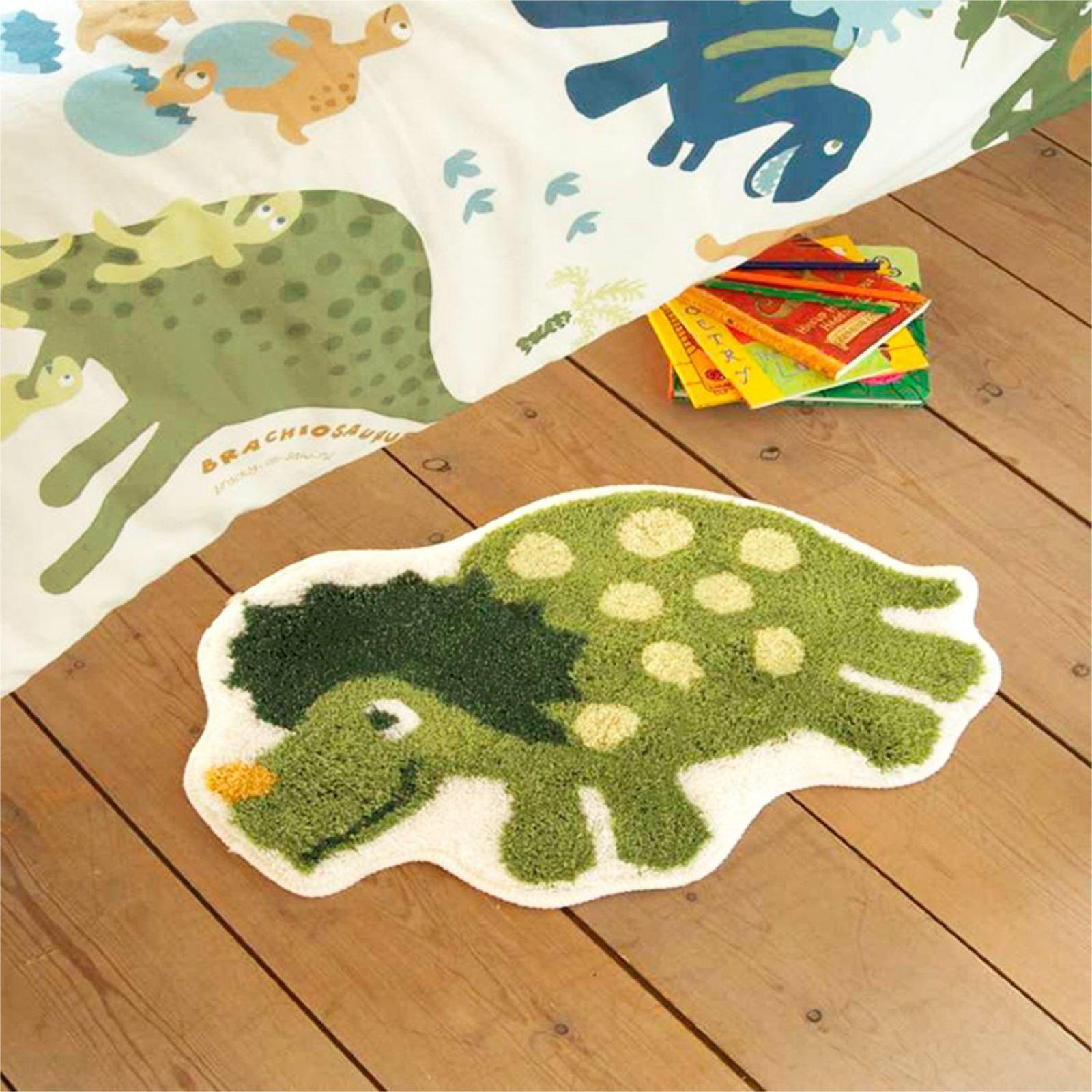 Catherine Lansfield Dinosaur Rug Kids Bedroom Decor New