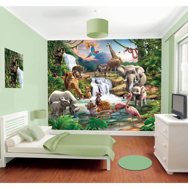 kids bedroom sticker wall murals WALLTASTIC WALLPAPER WALL MURALS KIDS BEDROOM – PEPPA