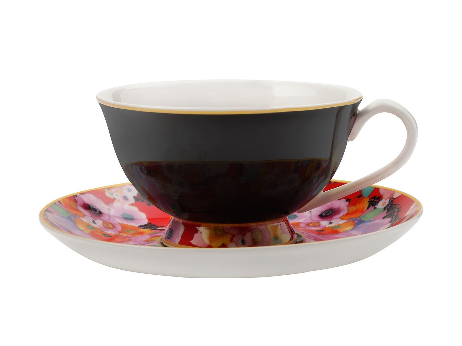 Maxwell & Williams Cashmere Bloems Tea Cup And Saucer