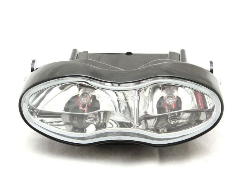 Universal Custom Twin Motorcycle Headlight Streetfighter Cafe Racer 2 X 55w
