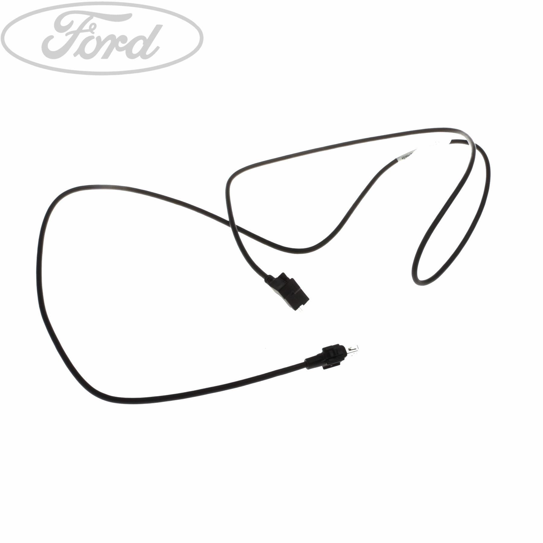 Genuine Ford Fiesta Mk7 Dashboard Usb Wire Cable