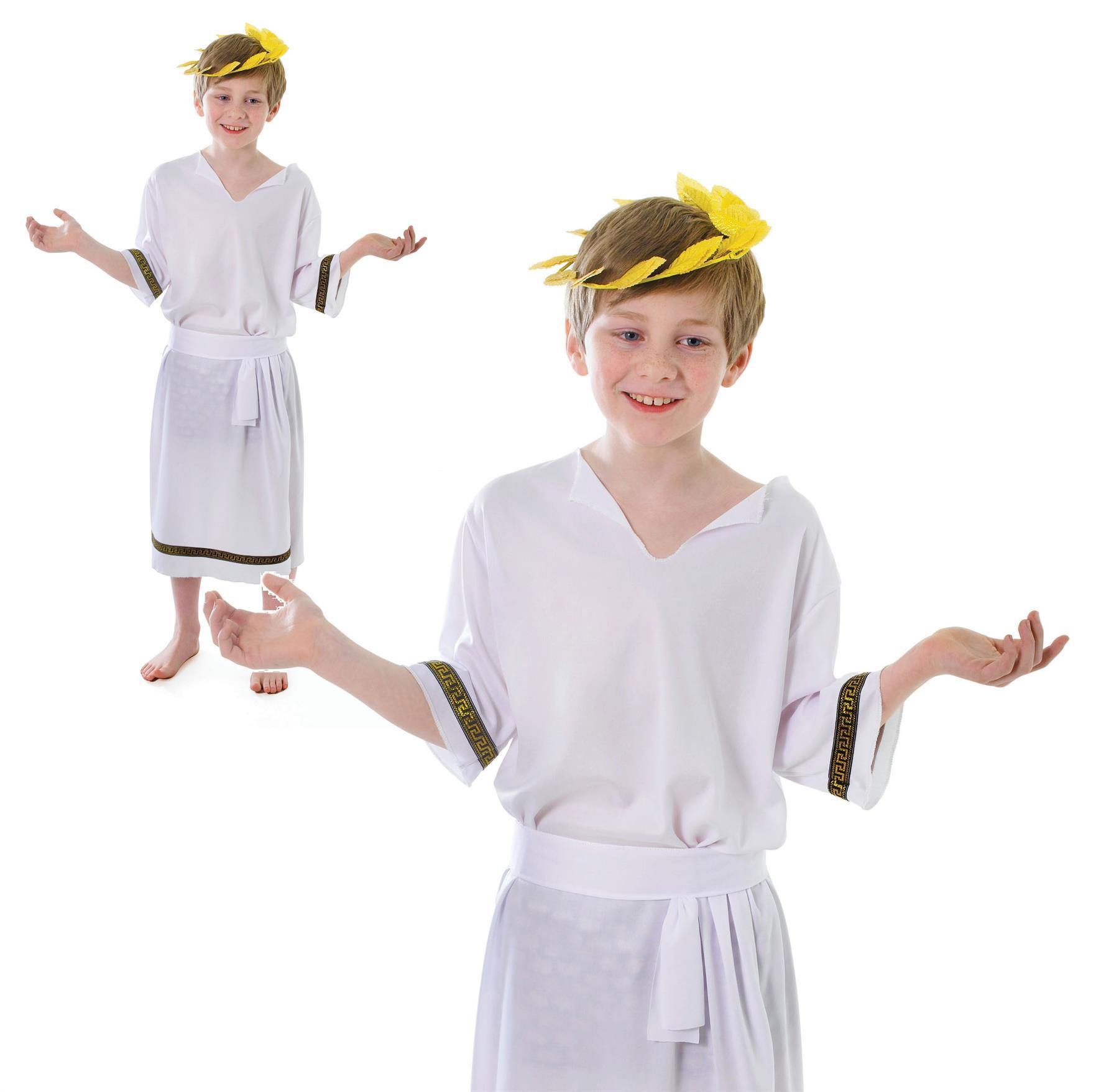 Roman Emperor Toga Ancient Greek Kids Julius Caesar Boy