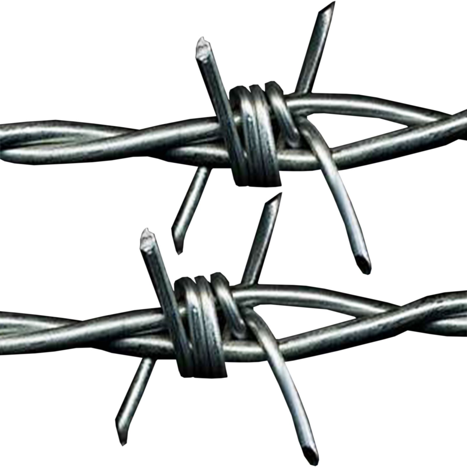 30m X 1 6mm Barbed Wire Galvanised Steel Barbed Wire In
