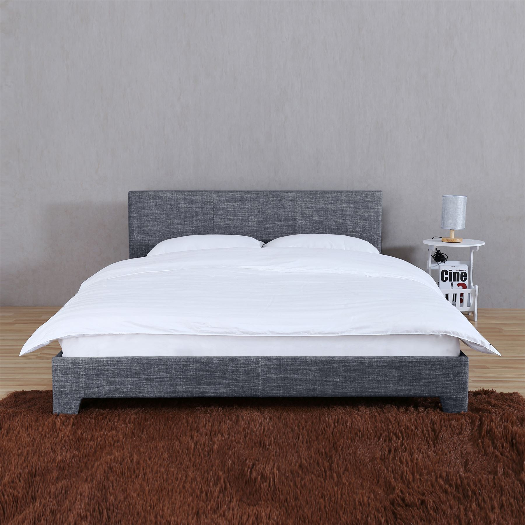 Victoria Double King Size Bed Frame 4ft6 5ft Upholstered