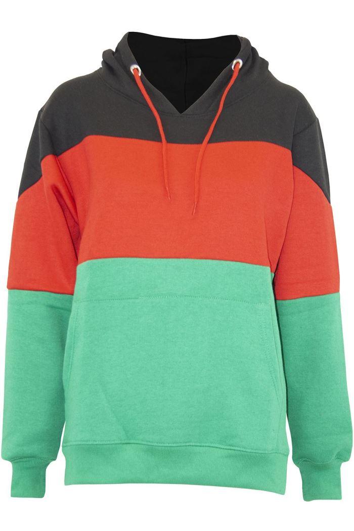 Womens Jumper Long Sleeve Hoodie Ladies Fleece Top Jacket