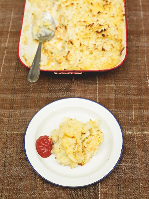 Fish pie courtesy of jamie oliver british country sports for Fish pie jamie oliver