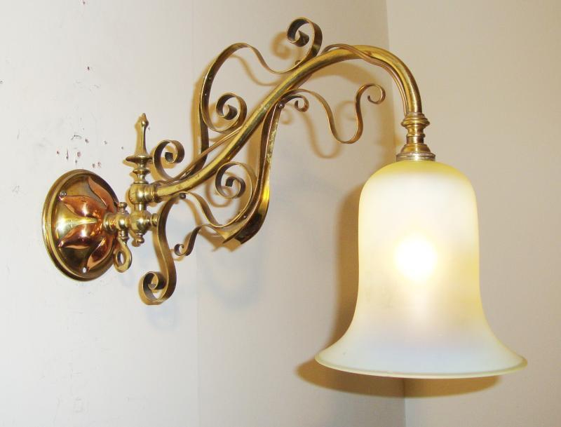 English art nouveau gas wall lights circa 1900 jones antique lighting english art nouveau gas wall lights circa 1900 aloadofball Image collections