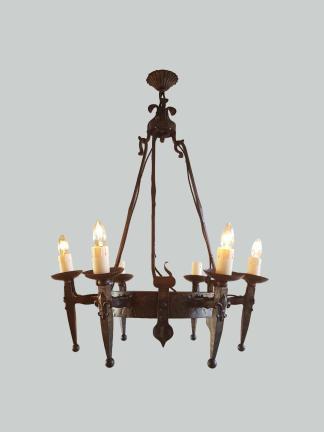 Neo Gothic Ceiling Light Jones Antique Lighting