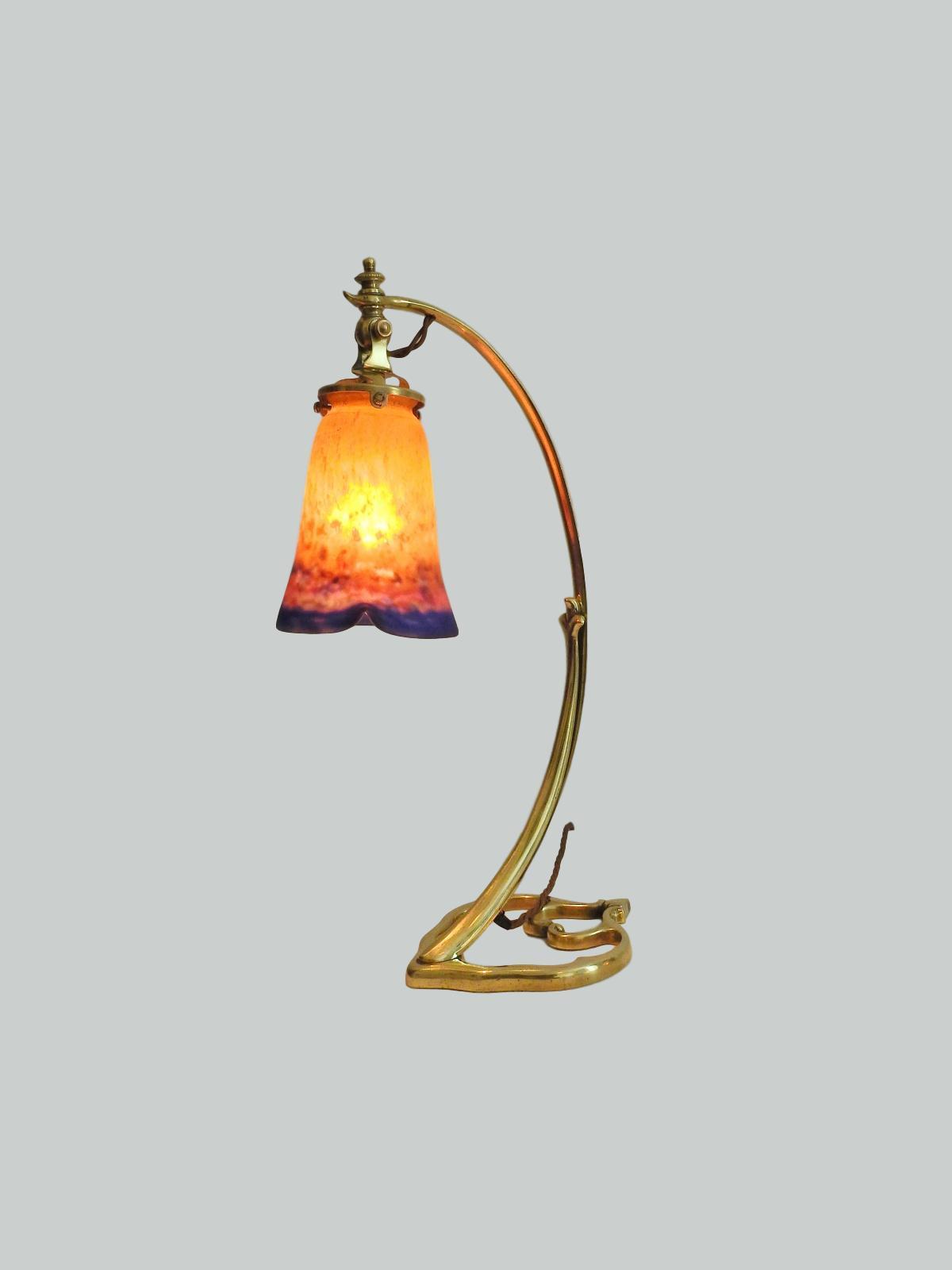 L Universe F D Paris Amp Muller Fr 232 Res Art Nouveau Desk Lamp
