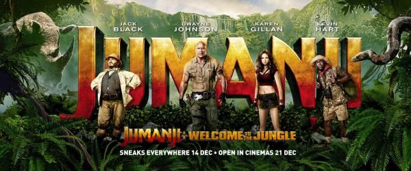 Jumanji: Welcome to the Jungle banner
