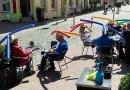 Немецкое кафе находит веселый способ поощрить социальное дистанцирование