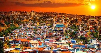 Крупнейшие города в Чили