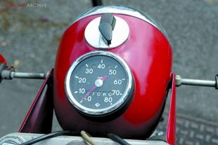 MZ classioc commuter motorcycle