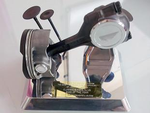 Classic Bikers Club trophy