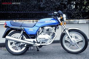Honda CB250 motorcycle