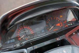Honda CX Turbo controls