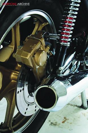 Kawasaki Z650 Japanese super middleweight motorcycle
